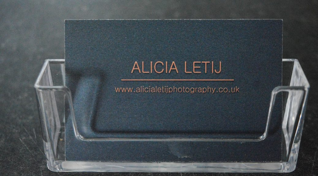 35. Business Cards for Personal Work | Alicia Letij